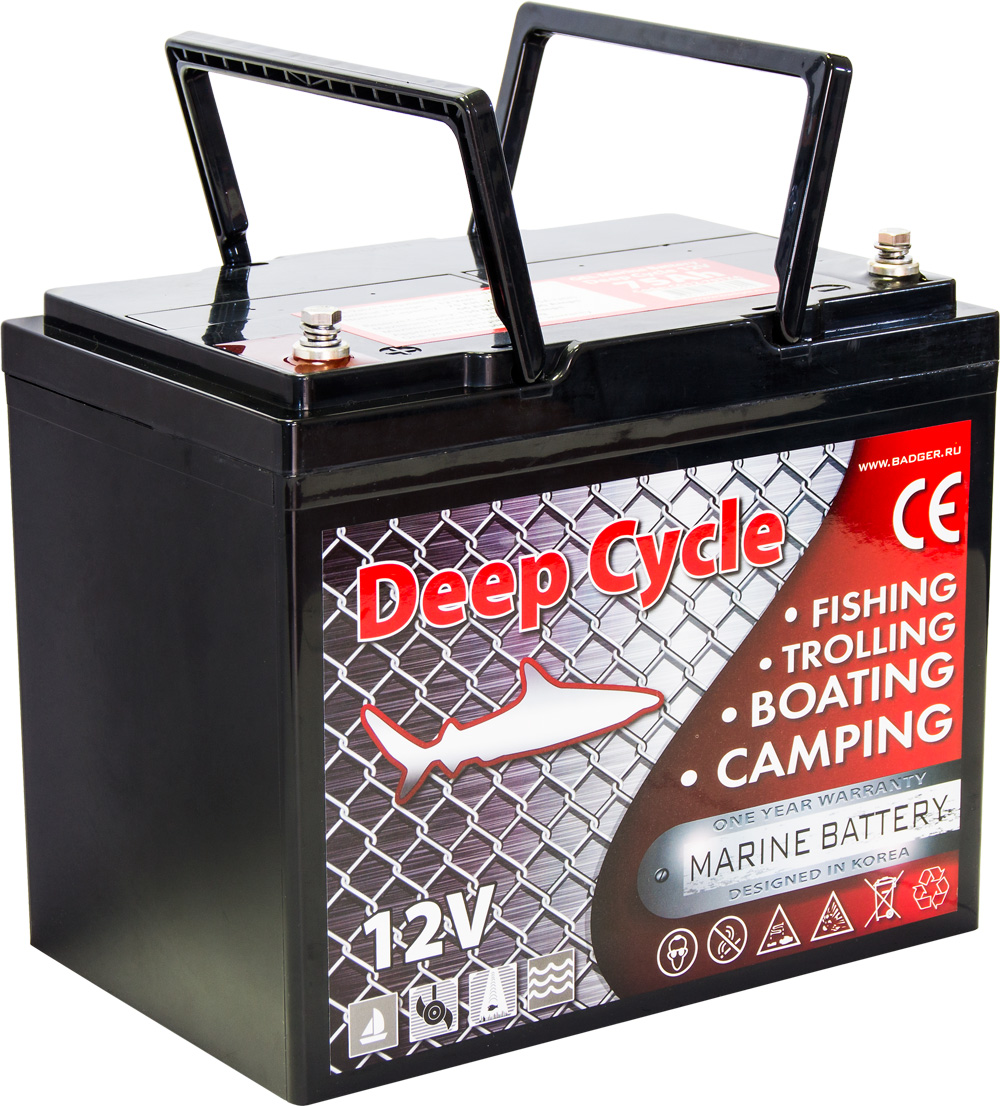 аккумулятор deep cycle для лодочных моторов
