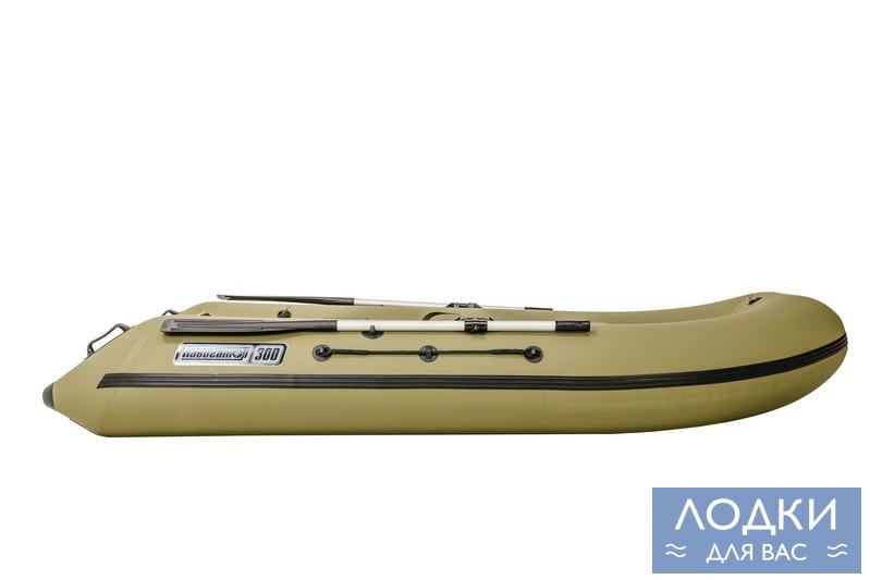 Навигатор 240 - комфортная и практичная надувная лодка для двух человек